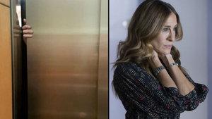 Sarah Jessica Parker'ın asansörde korku dolu anları