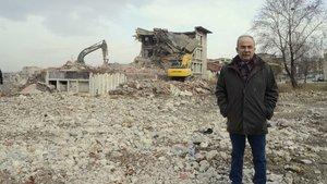 Türkiye'nin ilk çamaşır ve bulaşık makinası fabrikası yıkılıyor