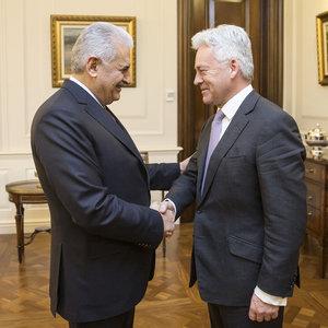 Başbakan Yıldırım İngiliz Bakan'ı kabul etti