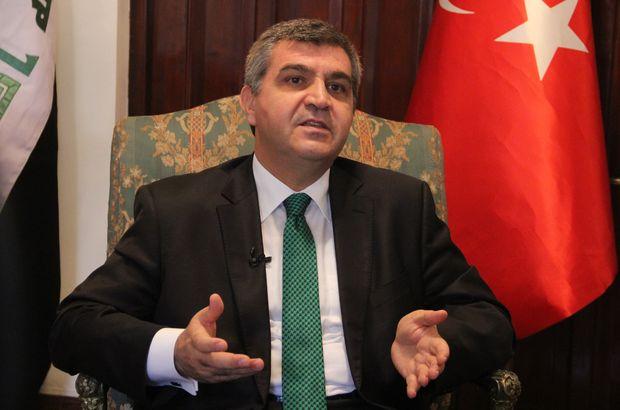 Türkiye Bağdat Irak Faruk Kaymakcı