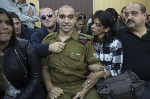 İsrail ordusundan o askere destek