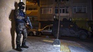 Fatih'te rehine operasyonu: 7 gözaltı