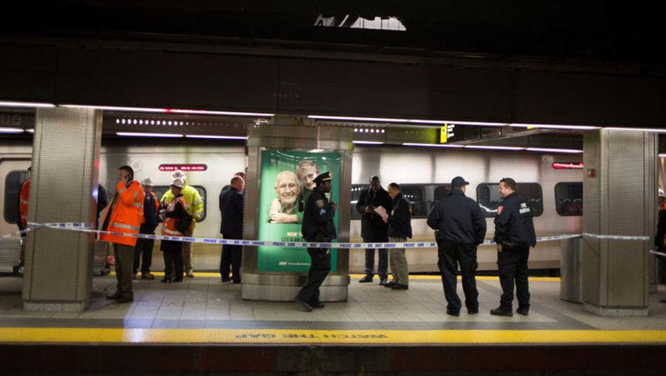 New York tren kazası ABD
