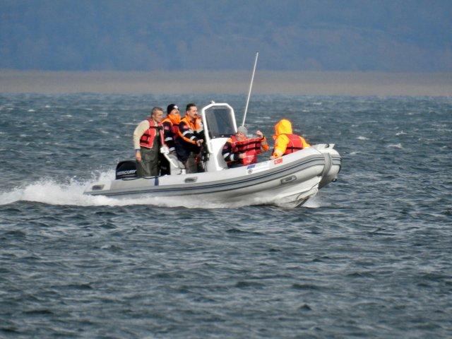 Sapanca Gölü'nde kayıkta mahsur kalan kişi kurtarıldı