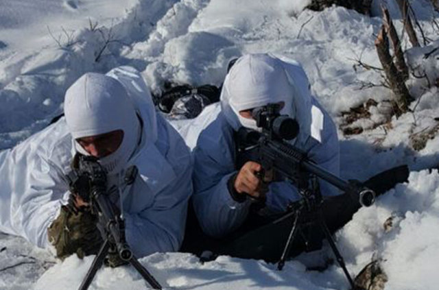 Askeri kamuflajı suikast için kullanacaklardı