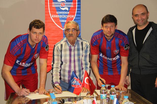 Oleksandr Rybka Yevhen Seleznyov Karabükspor