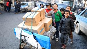 Halepliler kente geri dönmeye başladı