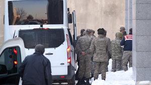 Erzurum'da FETÖ'cü iki komutan müebbet hapis cezası
