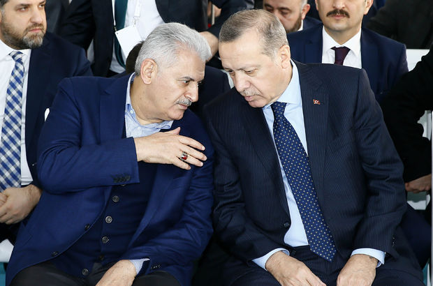 Binali Yıldırım, recep tayyip erdoğan, keçiören metrosu