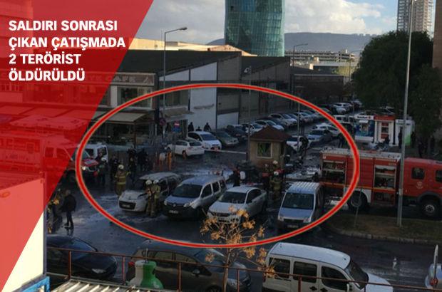 İzmir Adliyesi'nde bombalı araçla saldırı! 2 şehit!