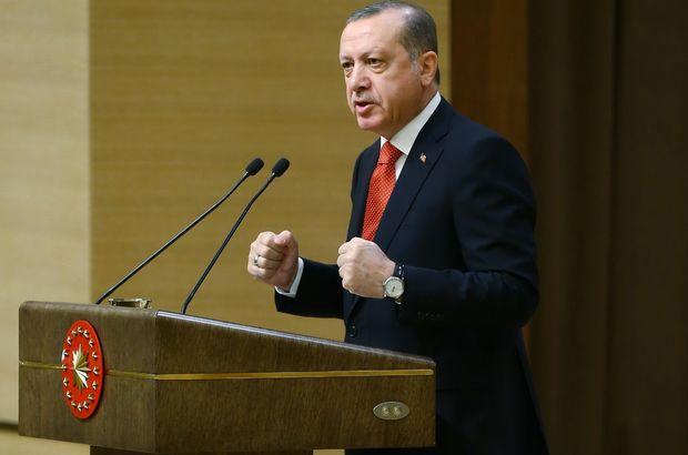 Cumhurbaşkanı Erdoğan: Geçit vermeyeceğiz