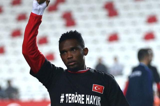 Beşiktaş'ta, Samuel Eto'o için karar günü