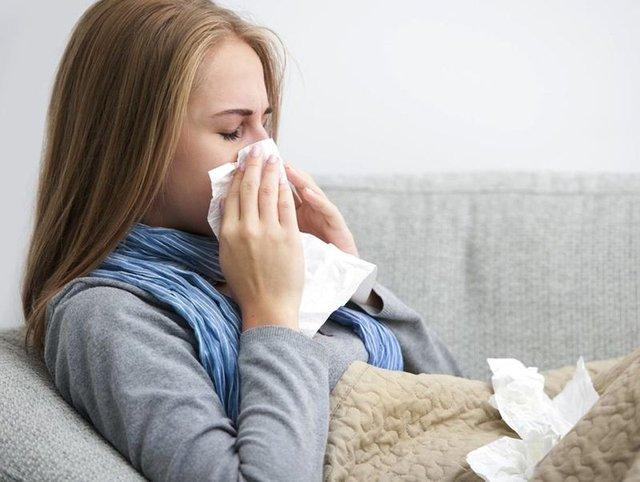 Her 3 kişiden biri  grip!