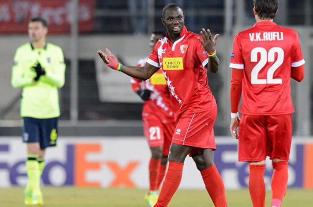 Trabzon'a Senegalli golcü: Moussa Konate