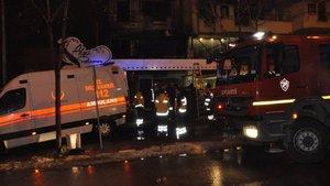 Afyonkarahisar'da işyeri yangını
