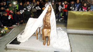 Japonya ve Güney Kore arasında 'heykel' krizi