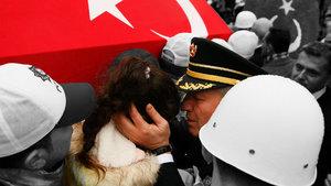 Şehit polis Fethi Sekin uğurlandı