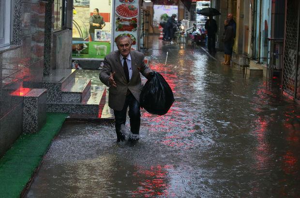 İzmir yağmur sağanak