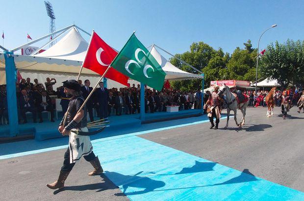 Almanya Osmanlı sancağı üç hilal