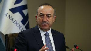 Dışişleri Bakanı Çavuşoğlu: Bir terör örgütüne müttefikimizin silah vermesi kabul edilemez