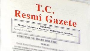 Atama kararları Resmi Gazete'de yayınlamdı