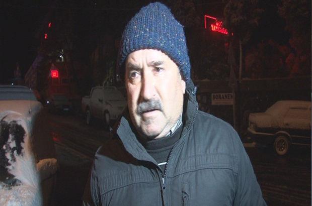 kar yağışı İzmir