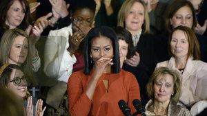 Michelle Obama'dan duygusal veda