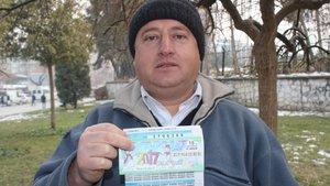 Denizli'de bir adam 60 milyonluk 'bilet' şakasıyla herkesi inandırdı