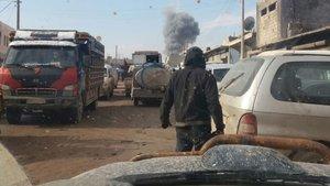 Azez'de bombalı araç saldırısı!