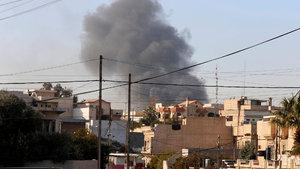 Irak ordusu Musul'da ilerliyor