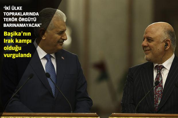 Başbakan'ın Irak ziyaretinden ortak bildiri