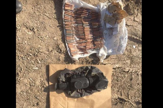 Mardin'de PKK tünelinde cephanelik bulundu