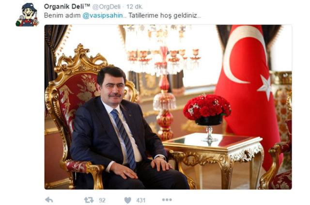 İstanbul Valisi Vasip Şahin kar tatilini açıkladı caps'ler patladı