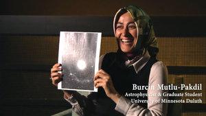 """Burçin Mutlu Pakdil galaksi keşfetti, """"Burçin'in Galaksisi"""" adı verildi"""
