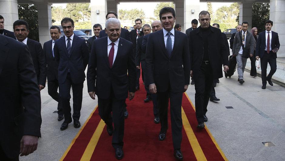 başbakan binali yıldırım erbil ziyareti