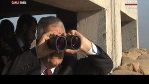 Başbakanın Erbil'deki Peşmerge ziyaretinden kareler
