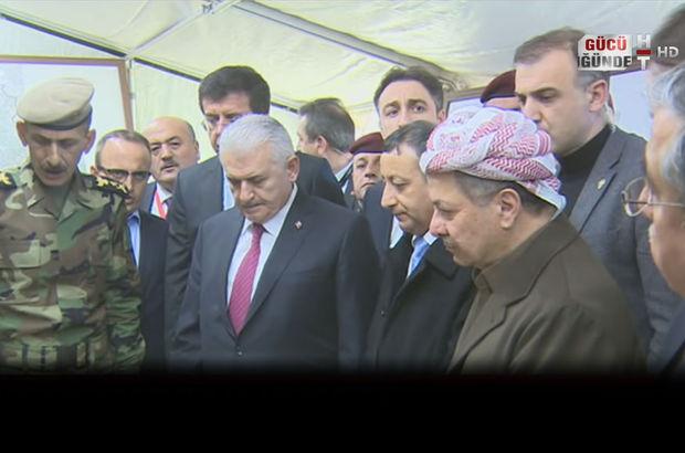 başbakan binali yıldırım Erbil Peşmerge DEAŞ Zerdek Dağı