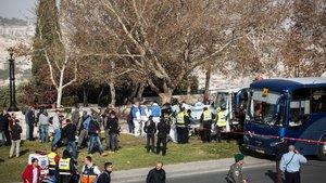 """Filistinli gruplardan """"Kudüs'te saldırı"""" açıklaması"""