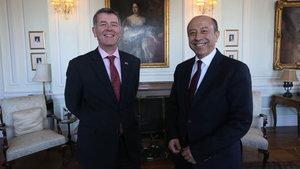 İngiltere Büyükelçisi Richard Moore: Suriye'nin kuzeyi PYD'ye ait değil
