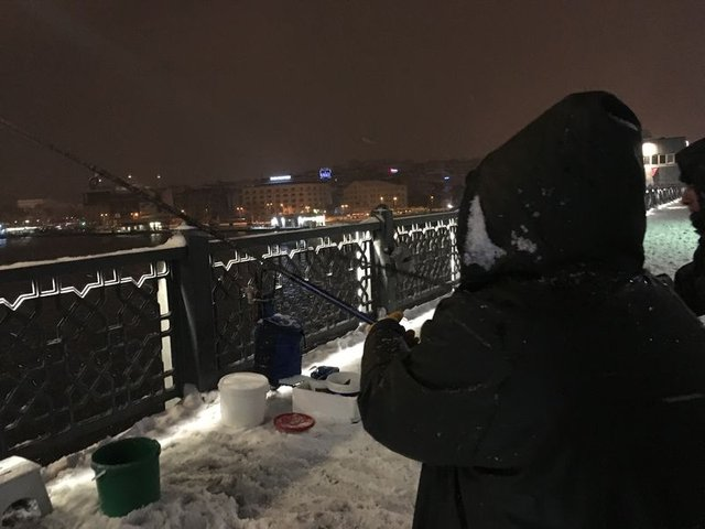 İstanbul'da kar yağışı gece boyunca etkili oldu