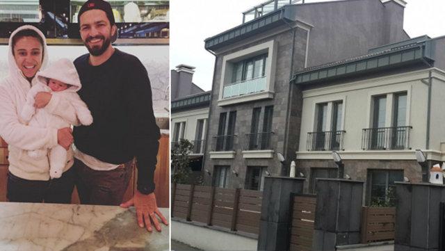 İlker Kızmaz-Aslı Kızmaz çiftinin yeni evi