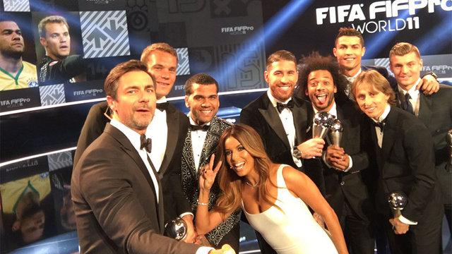 FIFA yılın en iyileri töreni