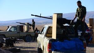 Irak güçleri Dicle Nehri'nde