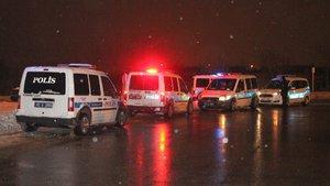 Konya'da polisin 'Dur' ihtarına uymayan araç polisi alarma geçirdi