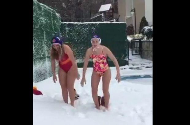 Galatasaray sutopu kar idman