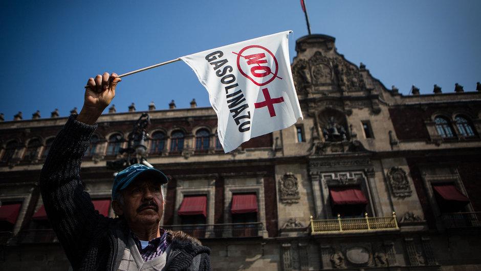 meksika benzin protestoları