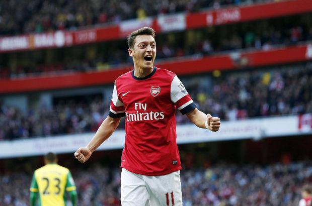Mesut Özil Arsene Wenger Arsenal