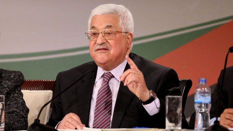 Filistin Mahmud Abbas ABD Donald Trump