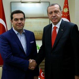 Erdoğan ve Çipras görüştü
