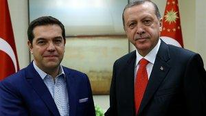 Cumhurbaşkanı Erdoğan ve Çipras Kıbrıs'ı konuştu